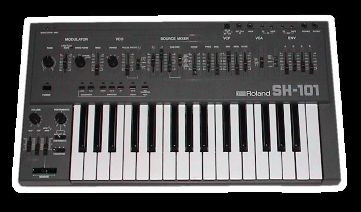 Zdjęcie syntezatora Roland SH-101