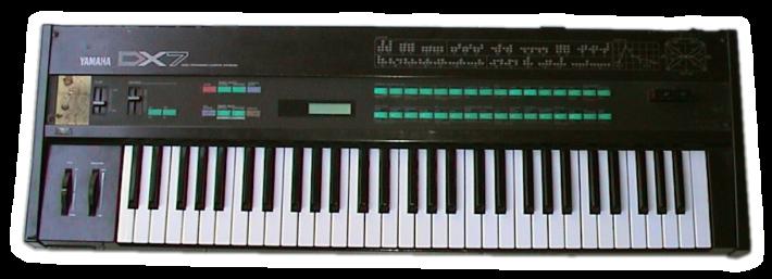 Zdjęcie syntezatora Yamaha DX7