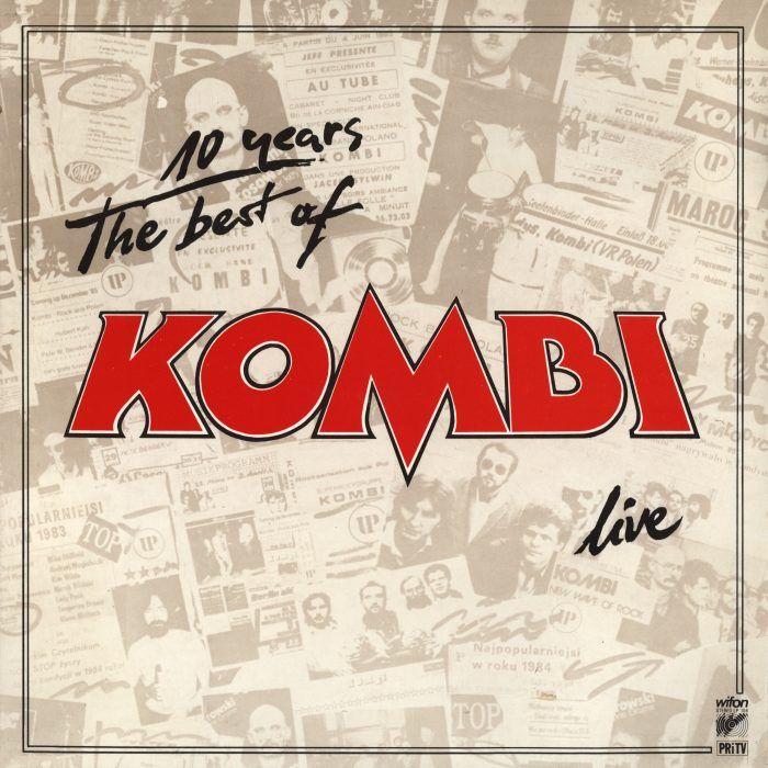 Okładka Kombi The Best Of Live