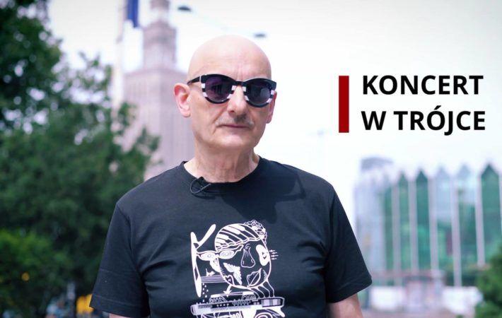 Sławomir Łosowski zapowiada koncert Kombi w Trójka Polskie Radio na którym wystąpią Kombi, Leszek Możdżer, DJ Spox, MC Silk, Andrzej Nowak. Koncert pod tytułem Bez Ograniczeń Energii 5-10-50